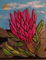 Paper Clay Art-Maui Flower